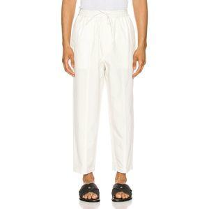 Jil Sander Drawstring Elastic Flap Pocket Trousers